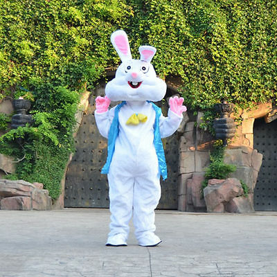 Halloween Easter Bugs Bunny Rabbit Mascot Costume Professional Fancy Dress Adult - Bugs Bunny Adult Costume
