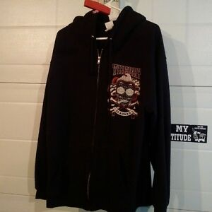 Theory of a Deadman Zip-up Hoodie size Large