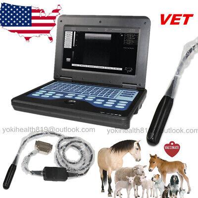 Animal Vet Laptop Ultrasound Scanner Notebook Digital 7.5mhz Linear Probe Usa