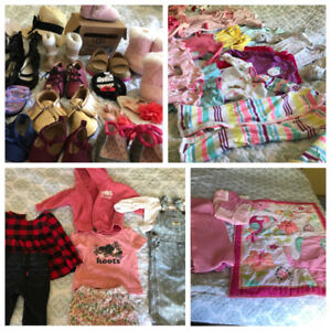 HUGE lot of baby girl items