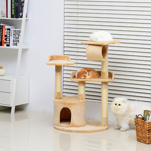 Cat Tree Tower Condo Furniture Scratch Post Kitty Pet House Play