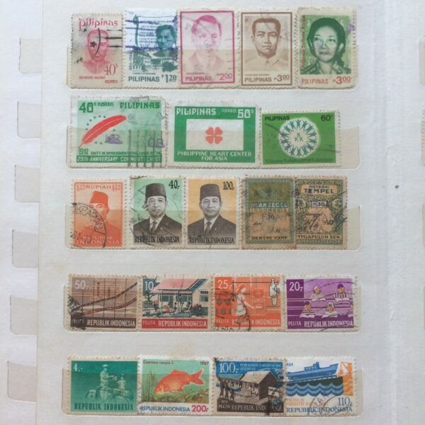 Assorted Collectible Old Stamps