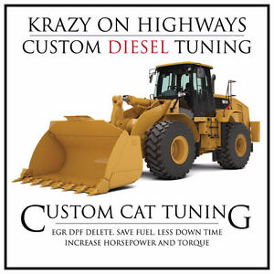 CAT Wheel Loader EGR & DPF Removal & MORE!