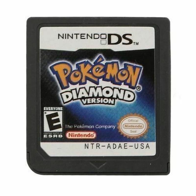 Pokemon Diamond Version Nintendo DS Video Game Card for 3DS Lite NDSI DSI Gift