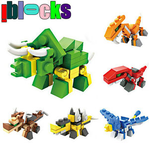 Lego-compatible: small dino/space ship sets: $1 EACH - NEW!!!
