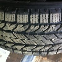 225/60R17 BF GOODRICH WINTER SLALOM 12/32 $350.00 LES 4