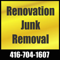 Renovation Junk Removal   416-704-1607