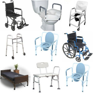 Hospital bed, Wheelchair, Bath Chair, Commode - ALL NEW!