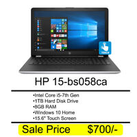 (Brand New) HP 15-bs058ca For $700 @ Wifi Computers