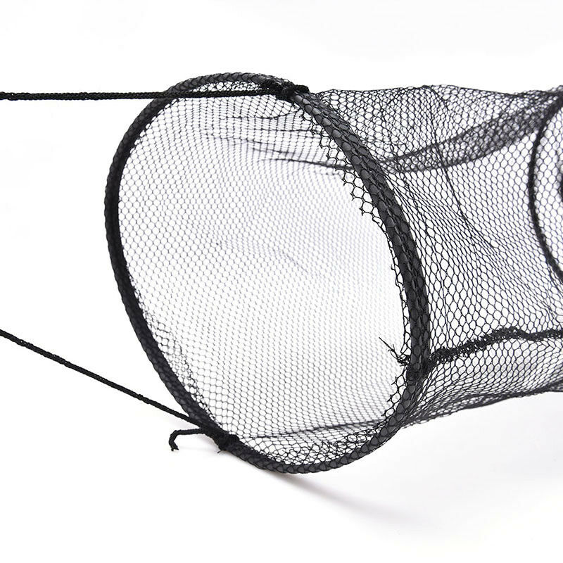 4Layers Collapsible Fishing Basket Dip Net Fishing Cage Fishing Accessor Tool FB - 5