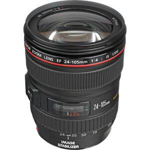 Canon Lenses 24 105 and 40mm
