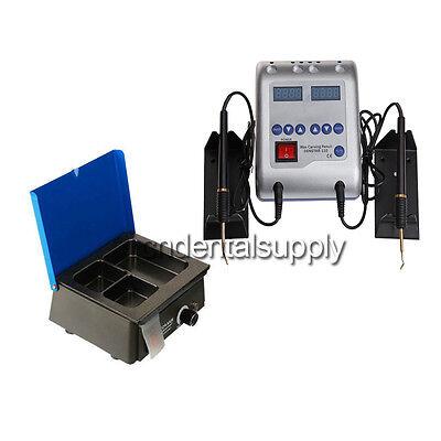 Espatula electrica cera para protesis dental + Calentador / fundidor de cera...