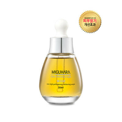 Miguhara Ultra Whitening Ample 35mL Korean Cosmetics + Sample