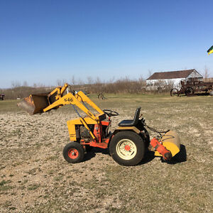 For Sale Case 646 yard tractor
