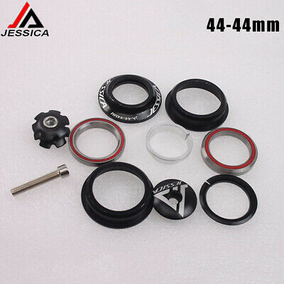 "1 1//8/"" MTB Bike Bicycle Headset 44mm 28.6mm Sealed Cartridge Bearings 120g US"