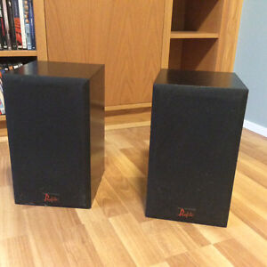 A pair of speakers.