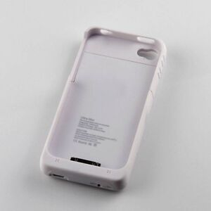 Backup External Battery Charger Case Cover 1900mAh For Iphone 4 4G 4S power bank