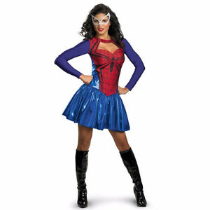 costume d'halloween spider-girl smal