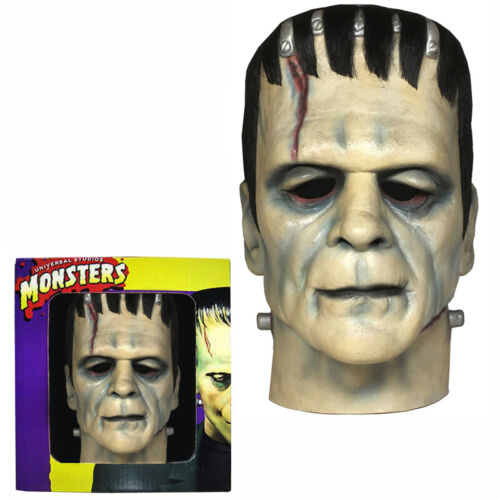 Don Post FRANKENSTEIN CALENDAR MASK in BOX Boris Karloff