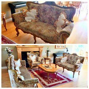 Formal living room set - Provincial Type