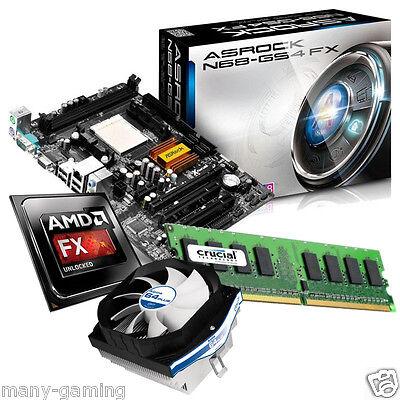 Aufrüst Kit Bundle AMD N68-GS4 FX + FX-4300 (4x 3,8Ghz) + Alpine64 + 8GB DDR3
