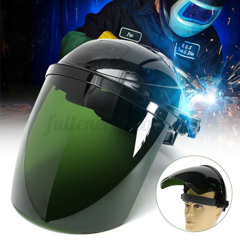 Pro Solar Powered Auto Darkening Welding Helmet Arc Grinding Welder Mask Green