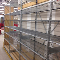 INDUSTRIAL WAREHOUSE STEEL SHELVING