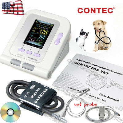 Vet Digital Blood Pressure Monitorbp Monitorveterinary Sphygmomanometerprobe