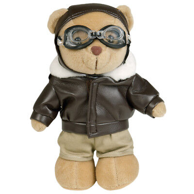 (Teddy Bear Combat Pilot Army Aviation Officer Military Airman Aviator Flyer Toy)