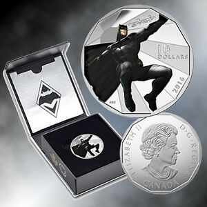 Batman 2016 $10 Fine Silver Coin