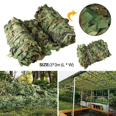 Red de Camuflaje Mallas de Protección Militar Para Caza Ocultar Coche Cubierta