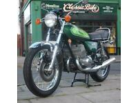 1976 Kawasaki H1F 500 Triple Classic Vintage Restored Rare Beautiful Collectors