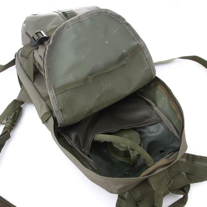 6d5ab99176a ... 2.5L Water Bag Blaas Hydratatie Rugzak Outdoor Camping Molle