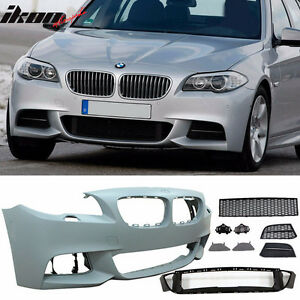 BMW F10 5-Series 11-13 M Sport Tech Style Front Bumper Cover NO