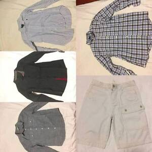4 x boys dress shirts and 1 x shorts size 10 Mudgeeraba Gold Coast South Preview