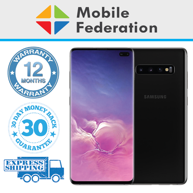 Android Phone - Samsung Galaxy S10 Plus S10+ G975F 128GB 512GB Unlocked [Au Stock]
