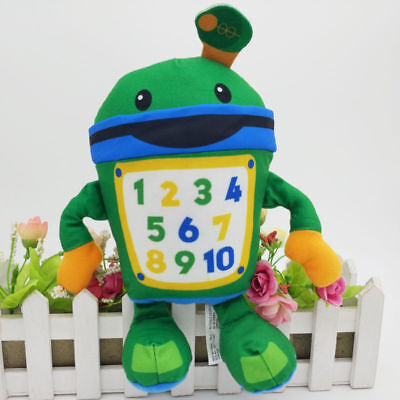 Details About Nickelodeon Team Umizoomi Bot 9 Plush Figure Doll Fisher Price Kids Toy Gift