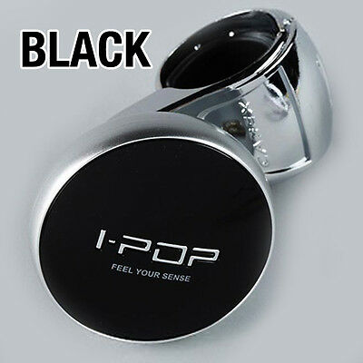 I-POP BLACK Car Steering Wheel Spinner Knob 1P for Hyundai 05-08 NF Sonata i45