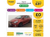 Vauxhall/Opel Corsa 1.6i 16v Turbo ( 205ps ) FROM £31 PER WEEK.