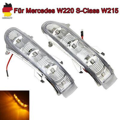 2PCS LED Aussenspiegel Blinker Spiegelblinker Für Mercedes W220 S-Class W215