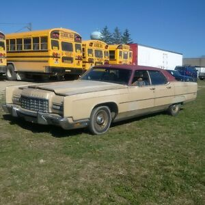 1973 Lincoln Continental parts