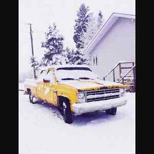 1988 Chevy Crew Cab 3+3       $1000 OBO make me an offer  Edmonton Edmonton Area image 1
