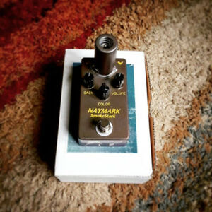 Naymark Smokestack - real tube driven drive pedal