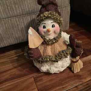 Holiday Contemporary Snowman