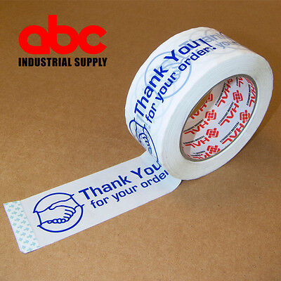 1 Roll Thank You For Your Order Box Shipping Tape 2 110 Yds 330ft
