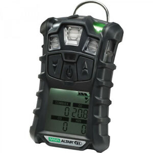 MSA ALTAIR 4X 4 GAS Detector W/MOTION ALERT Charcoal 10107602