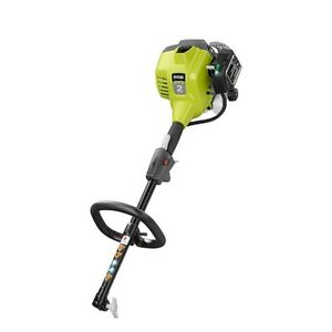 Nearly NEW 25cc RYOBI Gas POWER HEAD with HEDGE TRIMMER Attach.