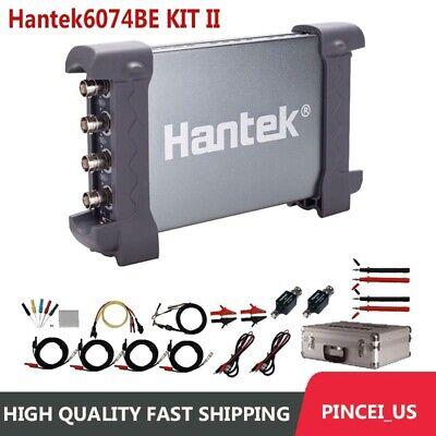 Hantek 4 Ch Automotive Usb Oscilloscope 70mhz 1gsas Sampling Hantek6074be Ii