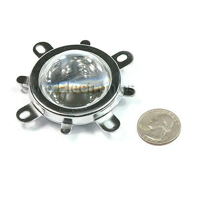 45mm Lens Reflector W Base For 20w30w50w100w Led Lamp