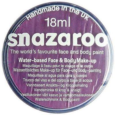 Lilac Snazaroo High Quality Non-Toxic Party Face Paint for Festivals & Fairs](Face Paintings For Halloween Costumes)